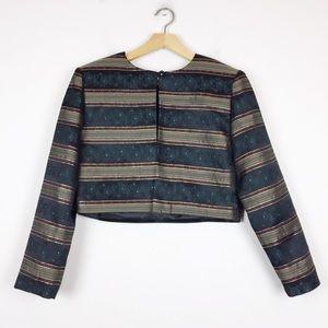 3/$25 Vintage cropped evening jacket bolero